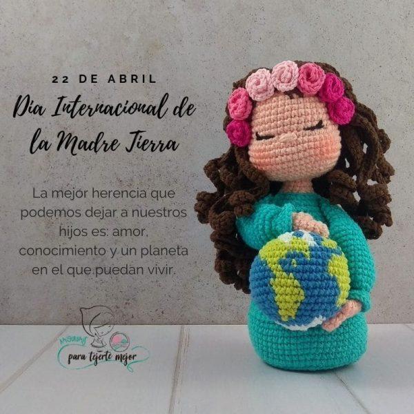 Amigurumi_Gaia_Dia_de_la_Madre_Tierra